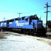 Conrail freight at Dolton Jct. IL - 1983, Долтон