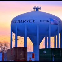 City of Harvey IL  Watertower, Долтон