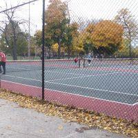 tennis courts, Елмвуд Парк