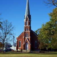 Ridgway, Illinois St. Josephs  Catholic Church......(1622394350), Зейглер