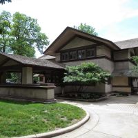 Wright In Kankakee The B. Harley Bradley House, GLCT, Канкаки