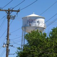 Princeton Illinois water tower, Кантон