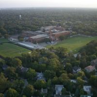 New Trier High School Winettka, IL Aerial Photo, Кенилворт