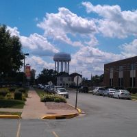 Quincy, Illinois water tower, Куинси