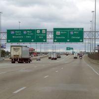 Echangeur I-80 x I-94 au sud de Chicago, Лансинг