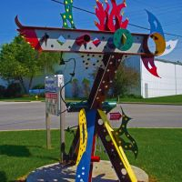 Dyer Sculpture, Линвуд