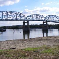 IL. Hwy 89 Bridge over the Illinois River, Марк