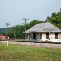 Former DePue Illinois train depot, Марк