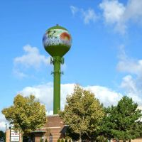 Randhurst Shopping Mall water tower, Маунт-Проспект