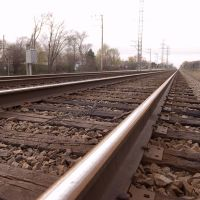 Railroad Tracks near Linne Woods (Morton Grove, IL), Мортон Гров