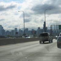 Entering Chicago from north rt 94, Мортон Гров