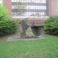 statue on the quad, Нормал