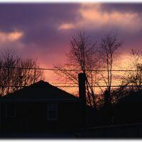 Sunset over Elmwood Park, Норридж