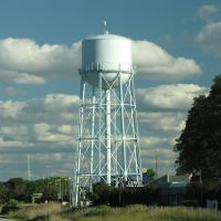 Water tower in Northbrook, Illinois, Нортфилд