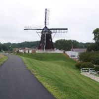 De Immigrant Windmill, Fulton, Whiteside County, Illinois, Олбани