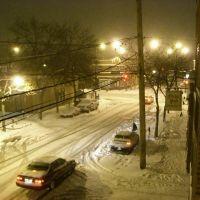Edison Park Snow Storm, Парк-Ридж