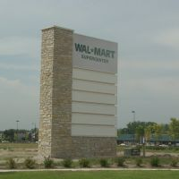 Wal-Mart Fountain Square sign, Парк-Сити