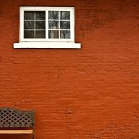 Bench & Window ~ Pekin, IL, Пекин