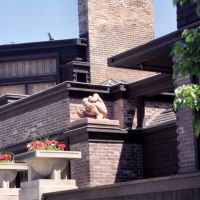 chicago,oak park, frank lloyd wright´house, Ривер Форест