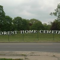 Forest Home Cemetery, Forest Park, IL, Ривер Форест