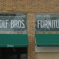 Forest Park, IL - Wolf Bros. Furniture (original site), Ривер Форест