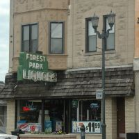 Forest Park, IL - Madison St., Forest Park Liquors, Ривер Форест