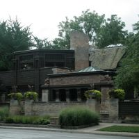 Frank Lloyd Wright Studio Library, Chicago 08/07, Ривер Форест