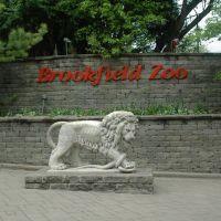 Brookfield Zoo - North Entrance, Риверсид