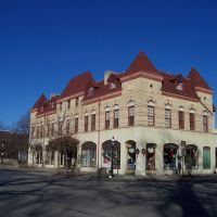 old building in Downtown Riverside, Риверсид