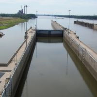 Melvin Price Locks and Dam, Alton, Illinois, July 2007, Роксана