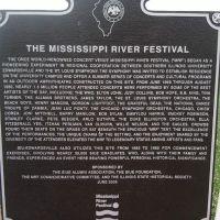 Former site of The Mississippi River Festival, Саут-Роксана