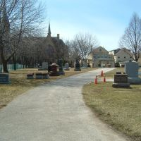St. Peter Cemetery: Facing Toward Niles Center Rd., Скоки