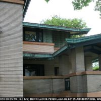 Route 66 - Illinois -  Springfield - Dana-Thomas House by Frank Lloyd-Wright, Спрингфилд