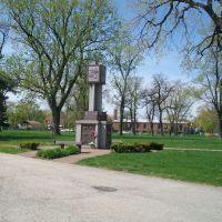 Memorial at cemetery, Стикни