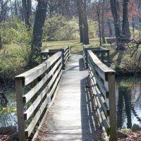 Bridge at Crystal Lake Park - Urbana, Illinois, Урбана