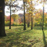 Autumn in Crystal Lake Park - Urbana, Illinois, Урбана