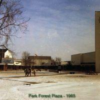 Park Forest Plaza - 1965, Форест Парк