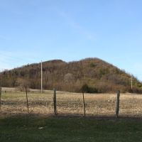 Cherry IL mine slag hills, Черри
