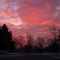 Sunrise on the AU Campus, Андерсон