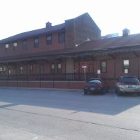 Illinois Central Railroad Freight Depot- Bloomington IN, Блумингтон