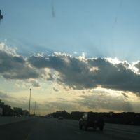 Sun and clouds on 80 94, Брук