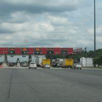 Indiana toll plaza, Брук