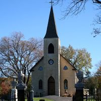 St. James at Sag Bridge Church and Cemetery in Lemont, IL, Брук