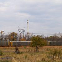 Industry surrounding Midewin National Tallgrass Prairie, Брук