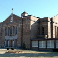 Holy Trinity Roman Catholic Church (historic), Gary, IN, Гари