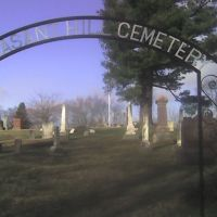Old Pleasant Hill Cemetery Arch, Гарретт