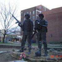 Desert Storm War Memorial, Евансвилл