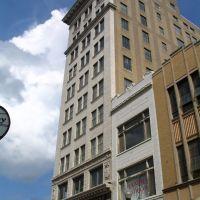 First steel-frame high rise building in Evansville, Евансвилл