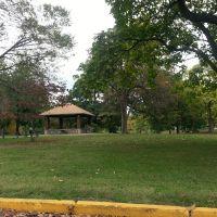 Garvins Park shelter house, Евансвилл