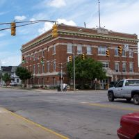 High and Second Streets, Elkhart, Indiana, July 2009, Елкхарт
